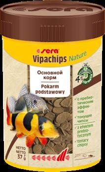 Корм для сомов и донных рыб Sera VIPACHIPS  100 мл. 37 г. - фото 20900