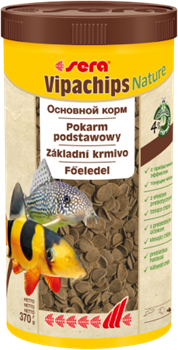 Корм для сомов и донных рыб Sera VIPACHIPS 1000 мл. 370 г. - фото 20903