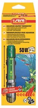 Sera Нагреватель SERA PRECISION  50 w для аквариумов 30-50 л - фото 21130