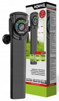 Нагреватель с терморегулятором Aquael UH- 75W (для аквариумов 35л-75л) пластиковый - фото 21668