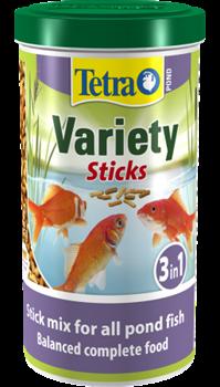 Корм для прудовых рыб Tetra Pond VARIETY STICKS /смесь из трёх видов кормов/  1 л. (150 г.) - фото 22043