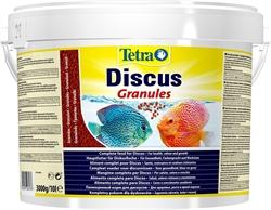 Корм для дискусов Tetra DISCUS GRANULES /мелкие гранулы, крупа/ 10 л. - фото 23652