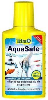 Кондиционер для аквариумной воды Tetra AquaSafe /подготовка воды/  100 мл. - фото 29630