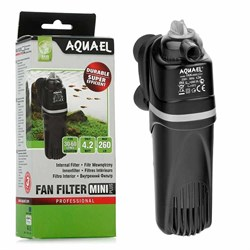 Фильтр внутренний Aquael FAN - Mini plus /для аквариумов до 60 л/, 260 л/ч - фото 29687