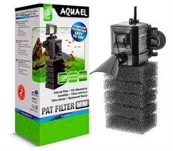 Фильтр внутренний Aquael  PAT-MINI /для аквариумов 10-120 л/ 400 л/ч - фото 29696