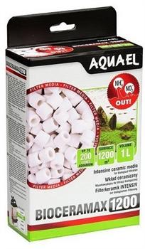 Фильтрующий материал Aquael BioCeraMAX 1200 /керамические цилиндры/ 1 л. - фото 31062