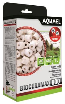 Фильтрующий материал Aquael BioCeraMAX Pro 600 /керамические цилиндры/ 1 л. - фото 31065