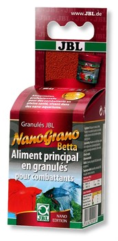 Корм для бойцовых рыбок и петушков JBL NanoGrano Betta 60 мл. (30 г) - фото 31154