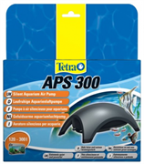 Компрессор Tetra APS 300 для аквариумов 120-300 л. /серый/