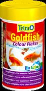 Корм для золотых рыб Tetra GOLDFISH COLOR FLAKES /хлопья/ 100 мл.