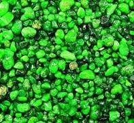 Грунт для аквариума BARBUS Кварц зеленый 5-10 мм, 3,5 кг.