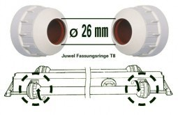 Патроны для ламп Juwel Cap T8, d= 26 см., 2 шт.
