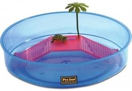 Террариум Pet Inn NINJA 2 круглый открытый с пальмой.