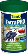 Корм для рыб TetraPRO Algae Multi-Crisps /чипсы/ 100 мл.