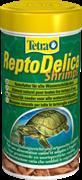 Корм-лакомство для рептилий Tetra DELICA SHRIMPS /креветки/ 1 л.
