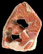 Декорация Zolux Камень с двумя отверстиями 6,5х14х17 см.