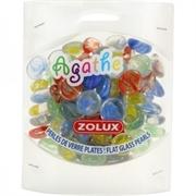 Украшения для аквариума стеклянные Zolux Агата (микс), 400 г.