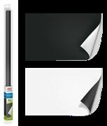 Фон пленка двусторонняя Juwel /черный-белый/ 150х60 см.