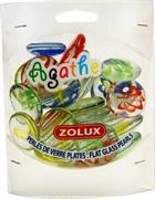 Украшения для аквариума стеклянные Zolux Агат L (мульти цвет) 430 г.