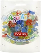 Украшения для аквариума стеклянные Zolux Агат S (мульти цвет) 430 г.