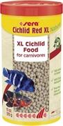 Sera CICHLID RED XL корм для цихлид крупных размеров 1000 мл. 330 г.
