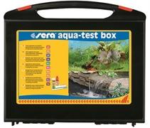Sera Тесты для воды набор AQUA-TEST-BOX рН, GH, KH, NH4/NH3, NO2, NO3, PO4, Fe, (+Cu)