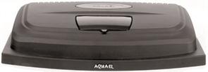 Крышка-светильник Aquael LED LT 1х8 Вт. овальная 50х30 см. /черный/