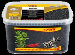 Грунт Sera для аквариума Gravel Black (Черный) 2-3 мм. 6 л.