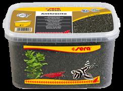 Грунт Sera для аквариума Gravel Anthracite (Антрацит) 1-3 мм. 6 л.