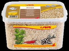 Грунт Sera натуральный для аквариума Gravel Beige (Бежевый) 2-4 мм. 6 л.