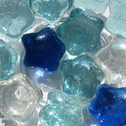 Украшения для аквариума стеклянные АкваМарблс Звездочки Star 200 г.
