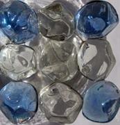 Украшения для аквариума стеклянные АкваМарблс Пирамидки большие Diamond 200 г.