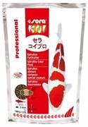 Корм для прудовых рыб Sera KOI Prof. Spirulina Color 1 кг