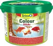 Корм для прудовых рыб Tetra Pond COLOR STICKS /для улучшения окраса рыб/ 10 л. (1,9 кг.)