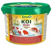Корм для прудовых рыб Tetra Pond KOI STICKS 10 л. (1,5 кг.)