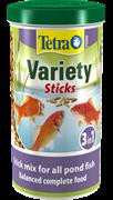 Корм для прудовых рыб Tetra Pond VARIETY STICKS /смесь из трёх видов кормов/  1 л. (150 г.)