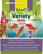 Корм для прудовых рыб Tetra Pond VARIETY STICKS /смесь из трёх видов кормов/ 4 л. (600 г.)