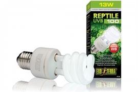 Лампа Exo Terra Reptile UVB100 Compact 5.0, 13 W