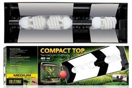 Cветильник Exo Terra Compact Top для террариумов Арт: РТ2604, РТ2608, PT2610, PT2612 (60x9x20 см)