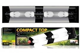Cветильник Exo Terra Compact Top для террариумов Арт: РТ2609, РТ2611, PT2613, PT2614 (90x9x20 см)