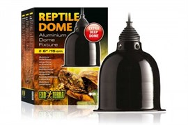 Светильник Exo Terra Reptile Dome с отражателем для ламп до 75 Вт 15.2x12.7 см.