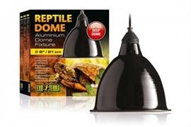 Светильник Exo Terra Reptile Dome с отражателем для ламп до 160 Вт 21x17.8 см.