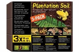 Кокосовая крошка Exo Terra Plantation Soil Brick 3х8,8 л.