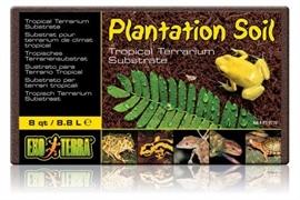 Кокосовая крошка Exo Terra Plantation Soil Brick 8,8 л.