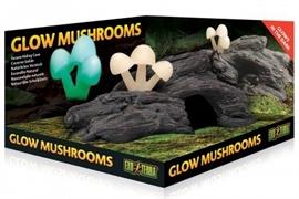 Декор Exo Terra светящиеся грибы 24х13х10 см.