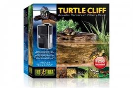 Черепашья скала Exo Terra Turtle-Cliff с фильтром для воды 22x16x19.5 см.