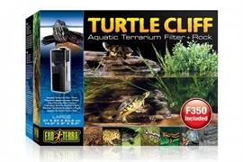 Черепашья скала Exo Terra Turtle-Cliff с фильтром для воды 34x21x22.5 см.
