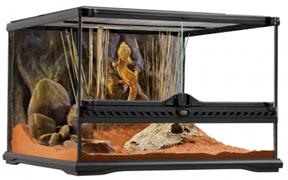 Террариум Exo Terra из силикатного стекла, 45х45х30 см.