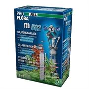 JBL ProFlora m502 - СО2-система с многораз балл 500 г и ЭМ-клап д/акв до 600 л (120 см)