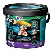 JBL ProPond All Seasons S - Осн всесез корм д/кои 15-35 см, плав палоч 8 мм, 1 кг/5,5 л